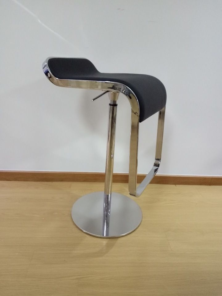 Clic Fashion Simple Stainless Steel Bar Chair Lem Piston Stool