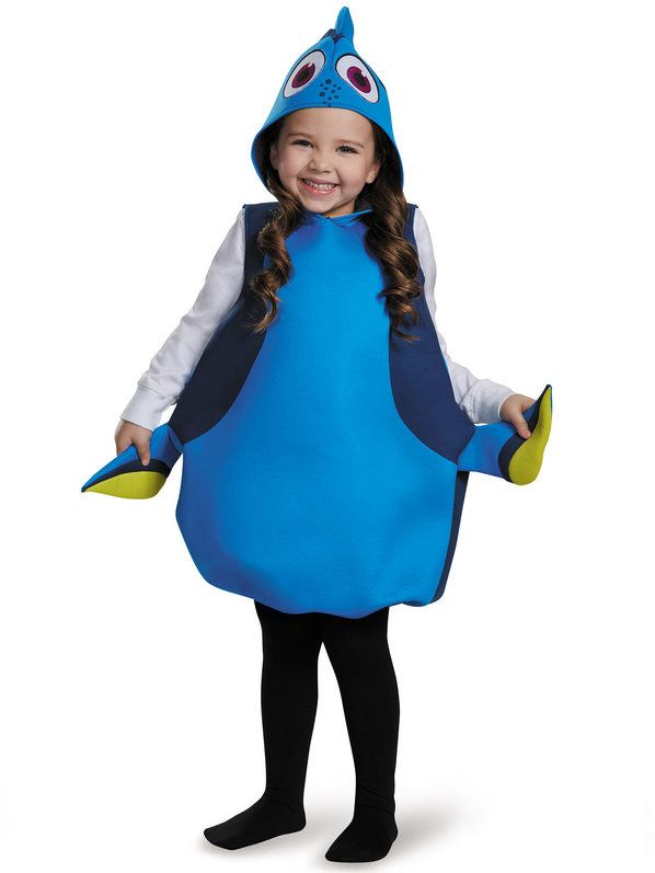 Disneyu0027s Finding Dory Girls Dory Classic Costume  sc 1 st  Pinterest & Finding Dory Deluxe Nemo Toddler Costume | Disney s Costumes and ...