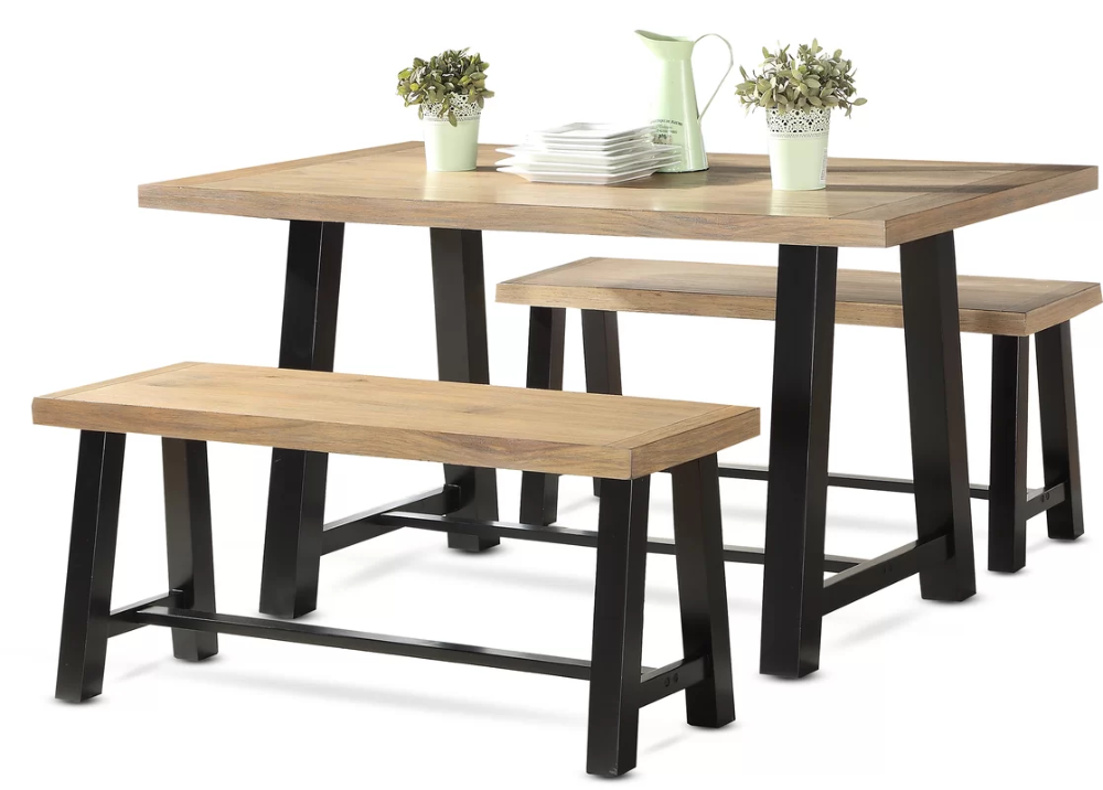 Bench Kitchen Dining Room Sets You Ll Love In 2020 Wayfair In 2020 3 Piece Dining Set Dining Table Setting Kitchen Dining Furniture