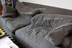 How To Fix Crumpled Sofa Back Cushions Cushions On Sofa Sofa