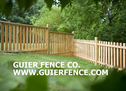 Gallery Of Fences Kansas City Fencing Ideas Guier Fence