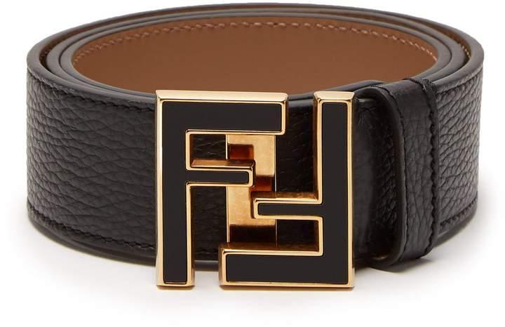 4ead087f63 Fendi FF logo-buckle leather belt | Belts in 2019 | Fendi belt ...