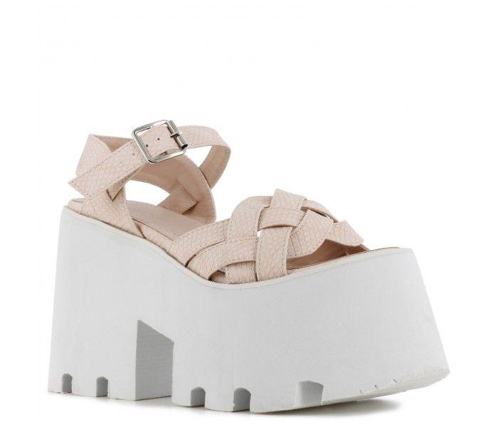 d6a096c1dd0 Sandalia Plataforma Pink
