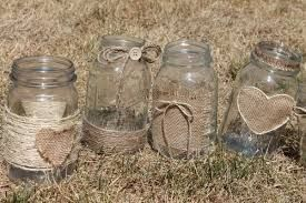 Image result for round table flowers in jars