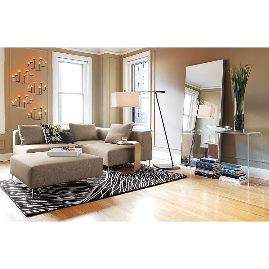"Infinity 32""x76"" Floor Mirror + Reviews Apartment living"