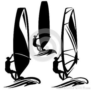 Windsurfing Stock Illustrations 413 Vectors Clipart