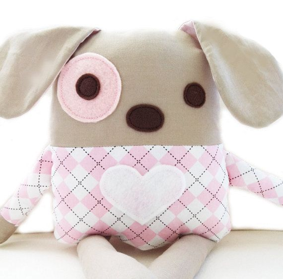 Dog Sewing Pattern Plush Dog Softie Pattern PDF by GandGPatterns ...