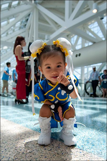 Amazing Street Fighter Baby AWESOME!