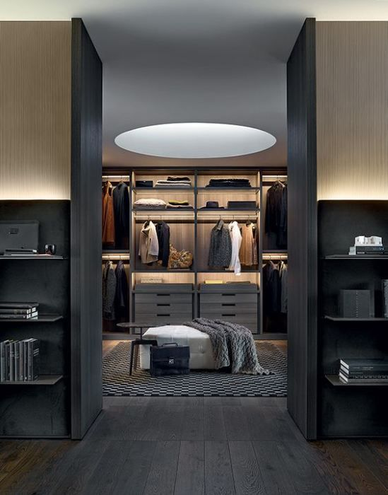 begehbare kleiderschr nke m nner schrank pinterest. Black Bedroom Furniture Sets. Home Design Ideas