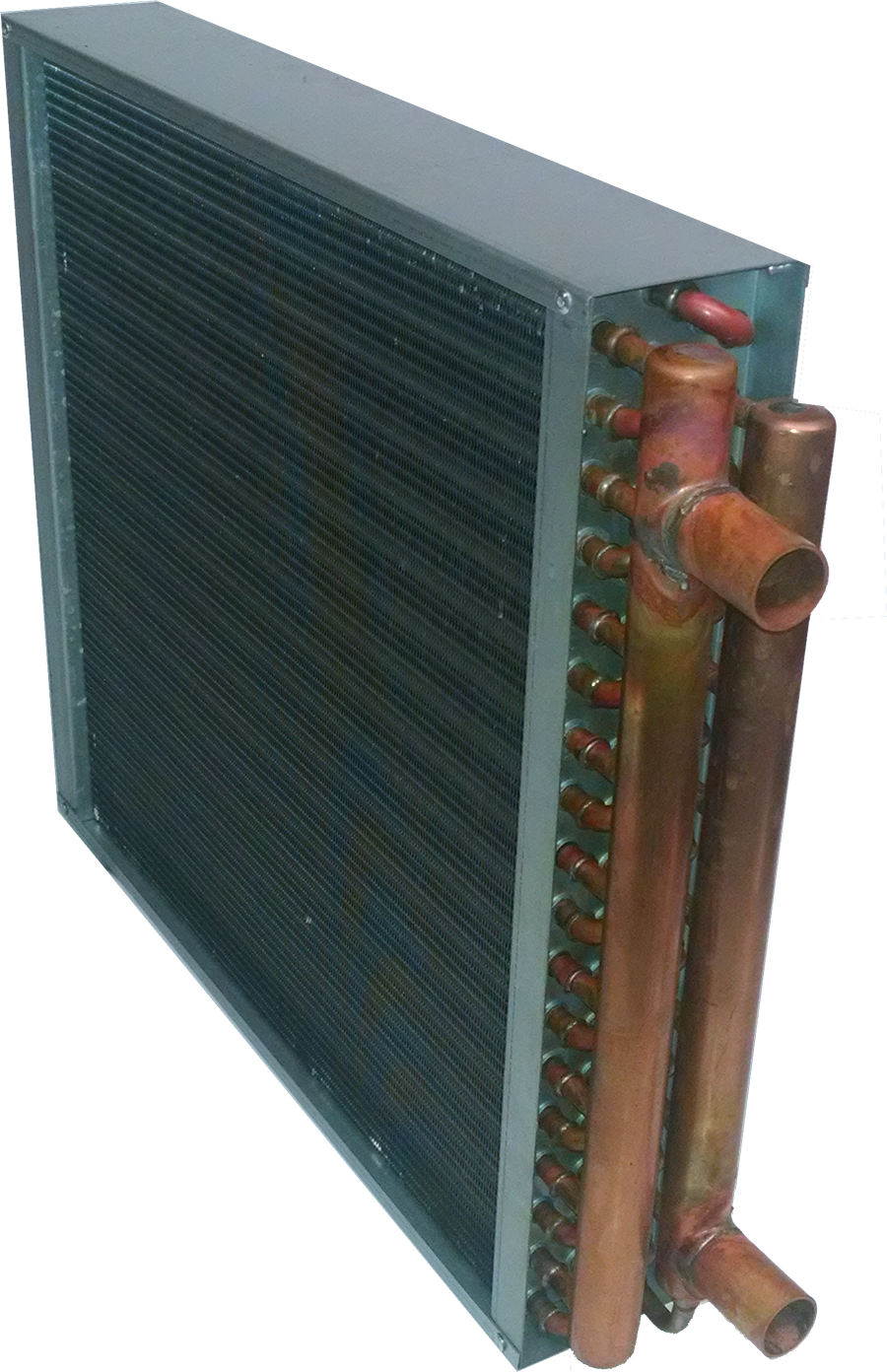 """Heat exchangers 1"""" Copper outlets sized to slip your"""