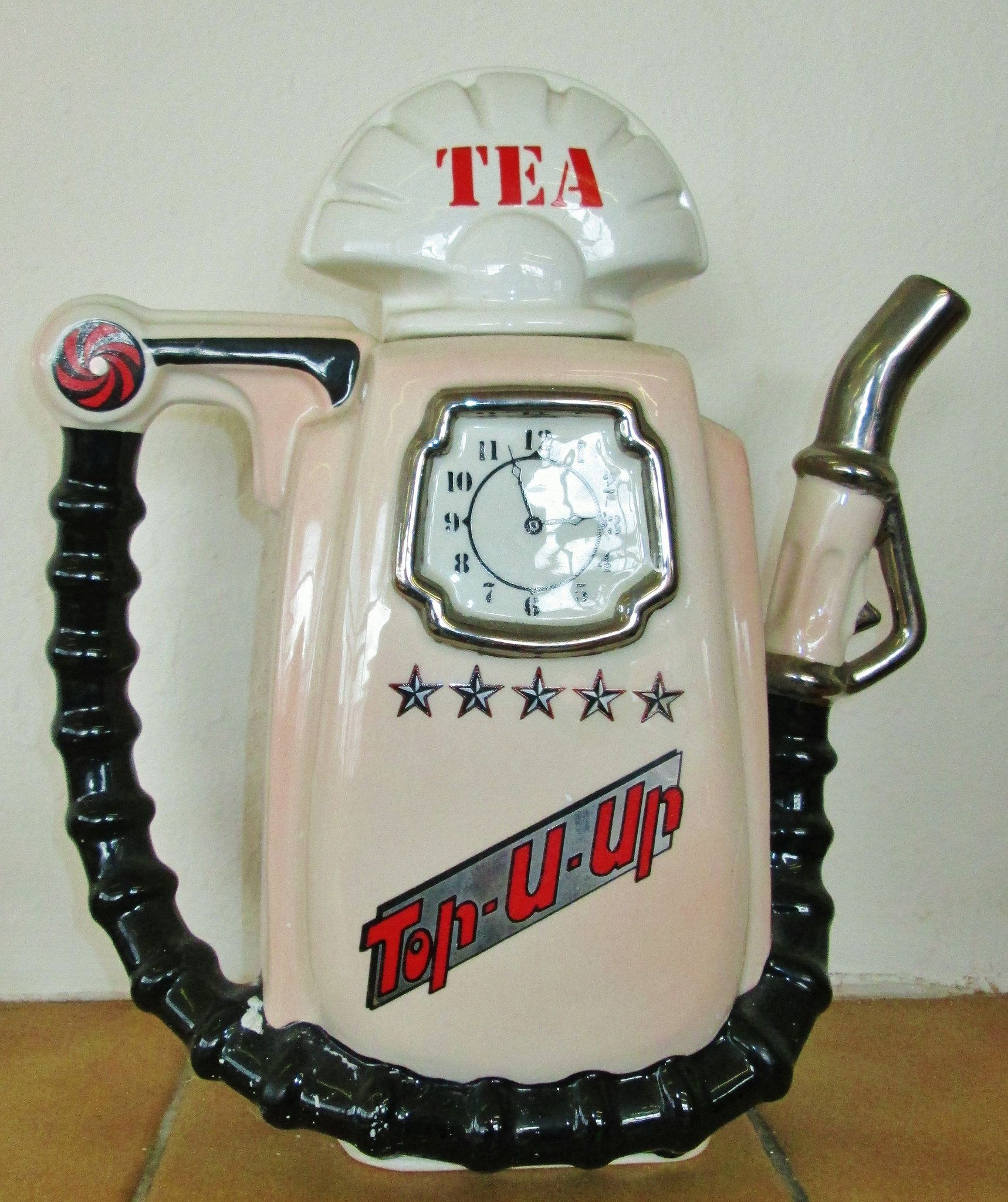 Fuel pump tea pot October 2015