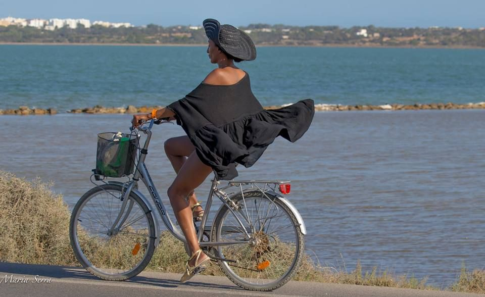cycling in the wind