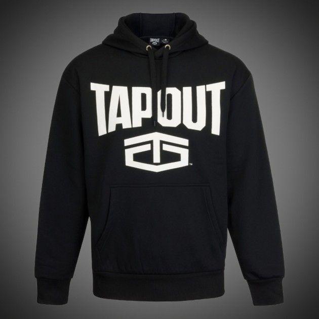 Pánská mikina Tapout new logo navy s kapucí. Klokaní kapsa ... 112d9938e2