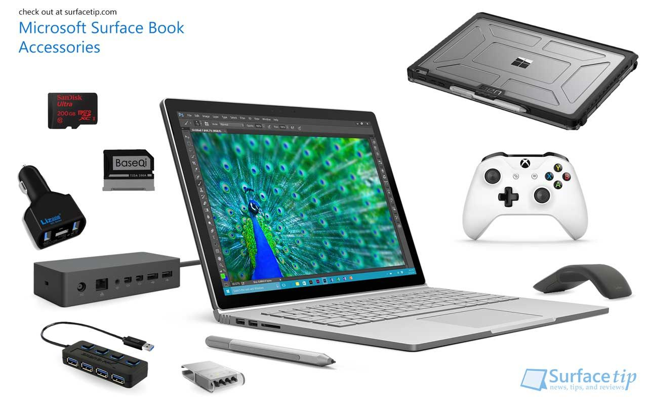 Are you looking for Surface Book accessories? Here are the best