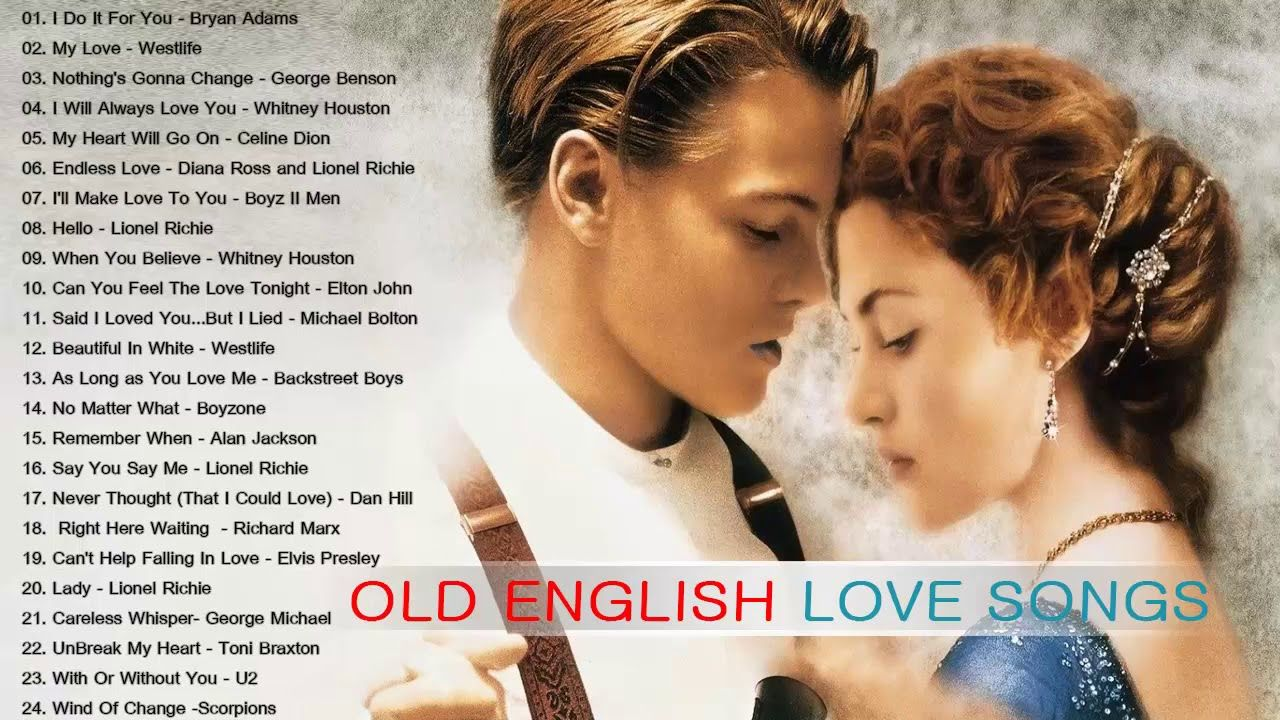 Best Old English Love Songs Love Songs 80 S 90 S Collection