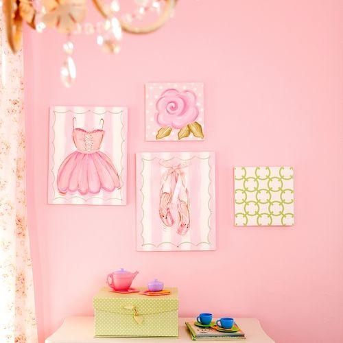 Ballet accesories for girls room Kids Room Pinterest