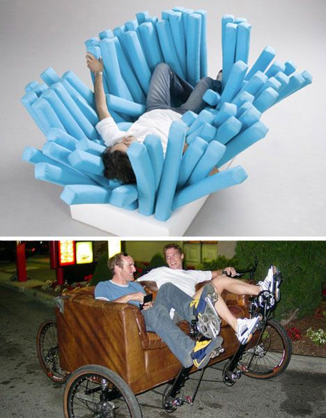 30 Most Unusual Furniture Designs For Your Home Cosas Increíbles Y Tontadas Varias Pinterest Funky Living Room And Clever