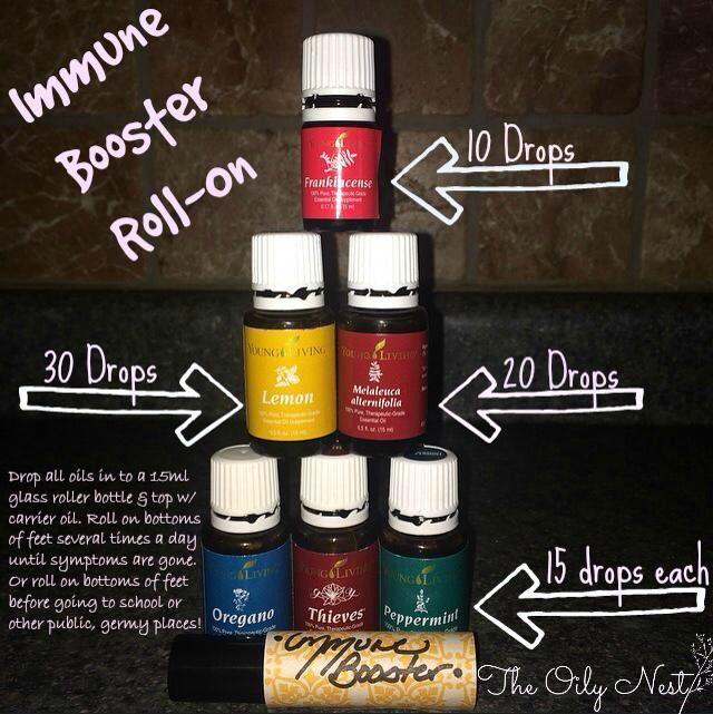 Immune boosting essential oil diffuser