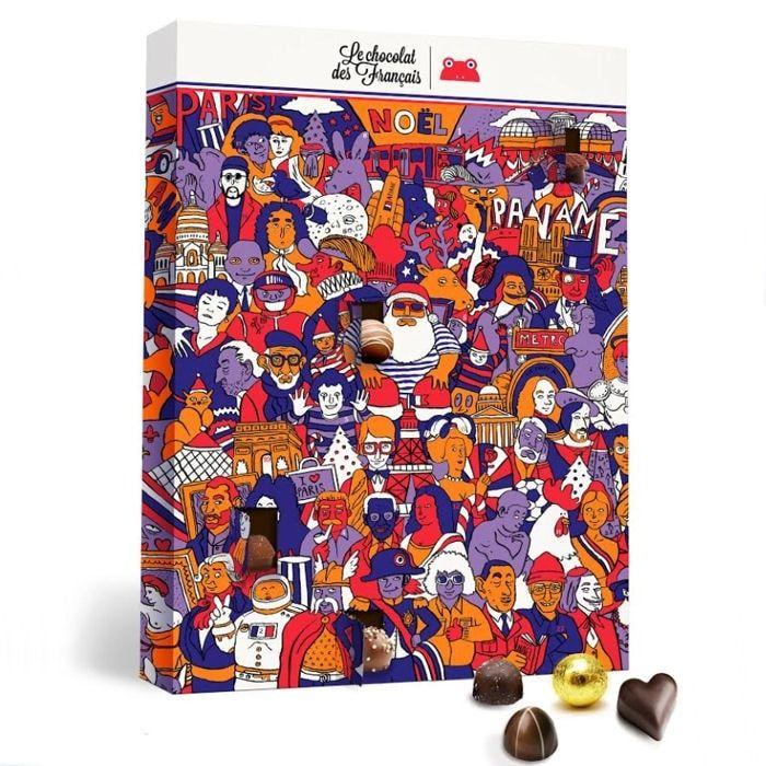calendrier de l 39 avent le chocolat francais embalagens embalagens