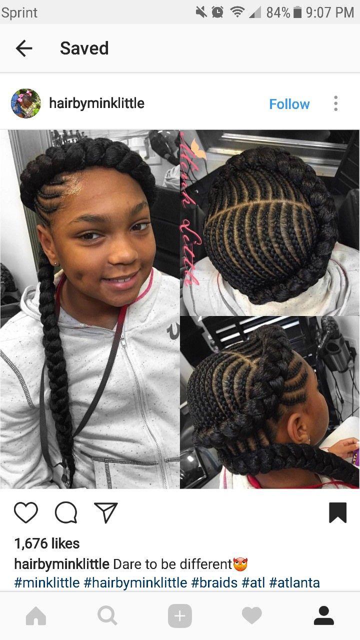 Hairstyles for kayla black hair kids pinterest hair style kid