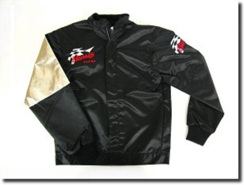 New Burris Racing Jacket w/ heat patch go kart racing | eBay | Gift
