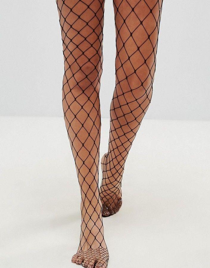 51eb941777f61 DESIGN oversized fishnet tights | Products | Moda de lujo, Vestido ...