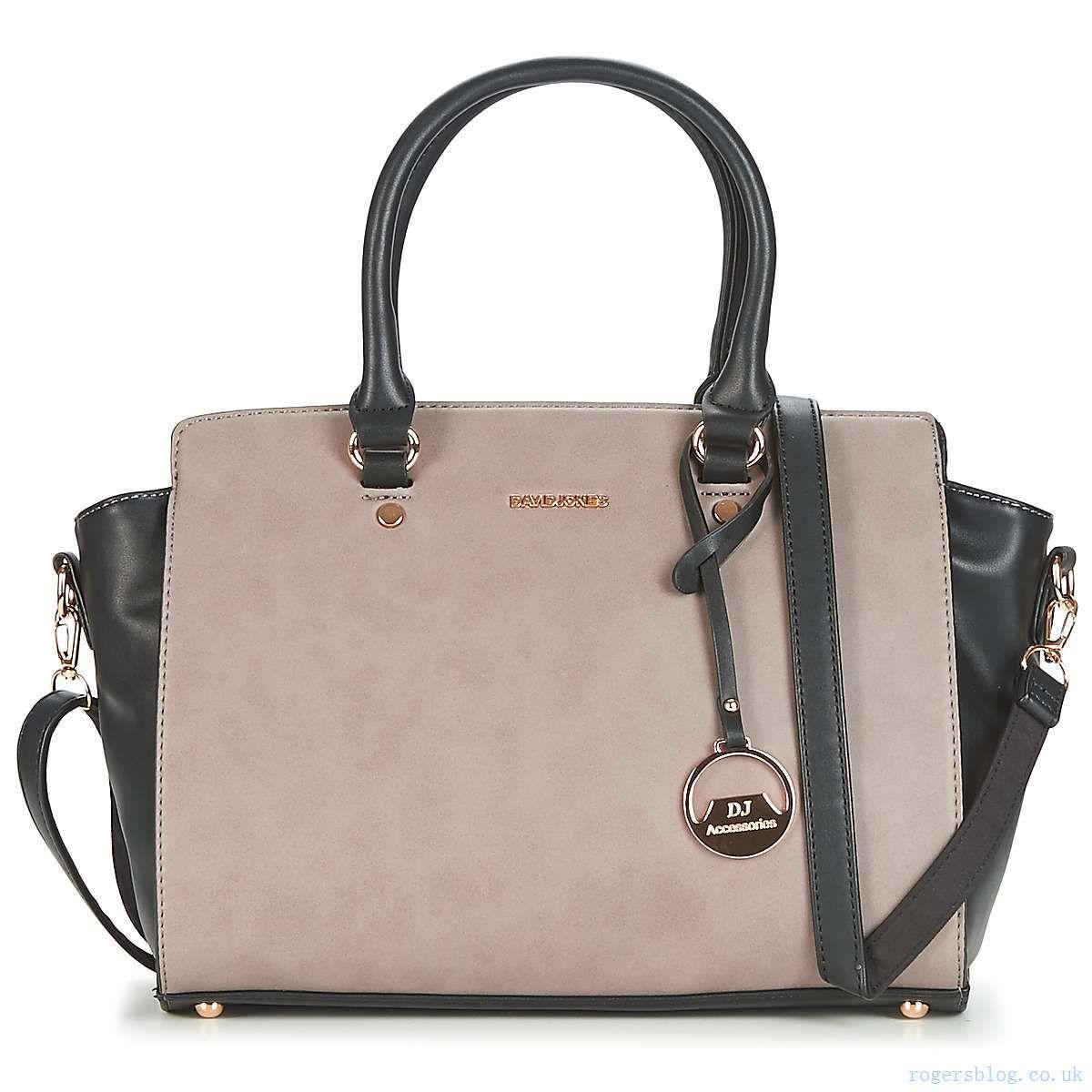 Handbags David Jones Chavela Black Grey Women S 1965482