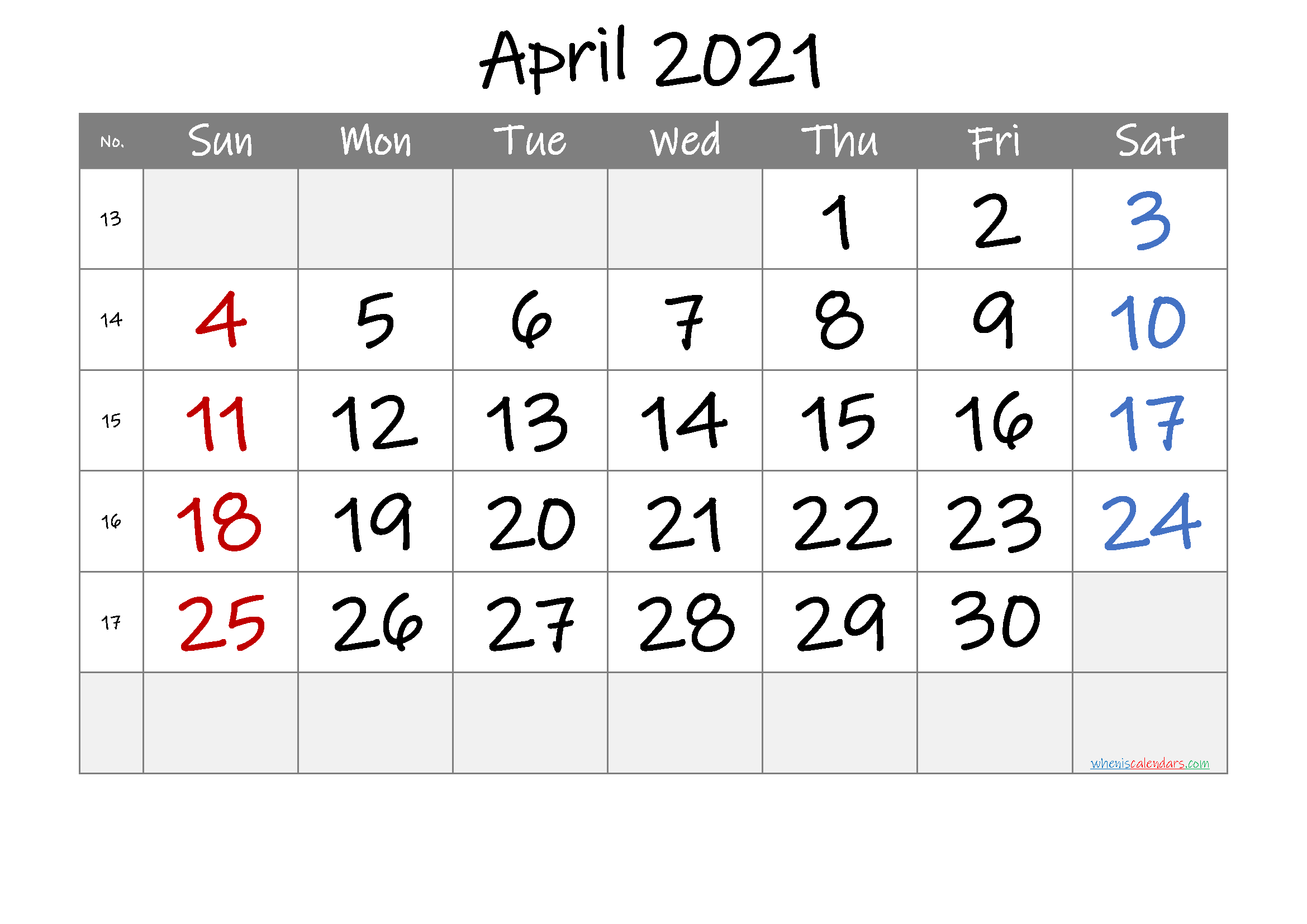 Printable April 2021 Calendar Free Premium In 2020 2021 Calendar Printable Calendar Template Calendar Printables
