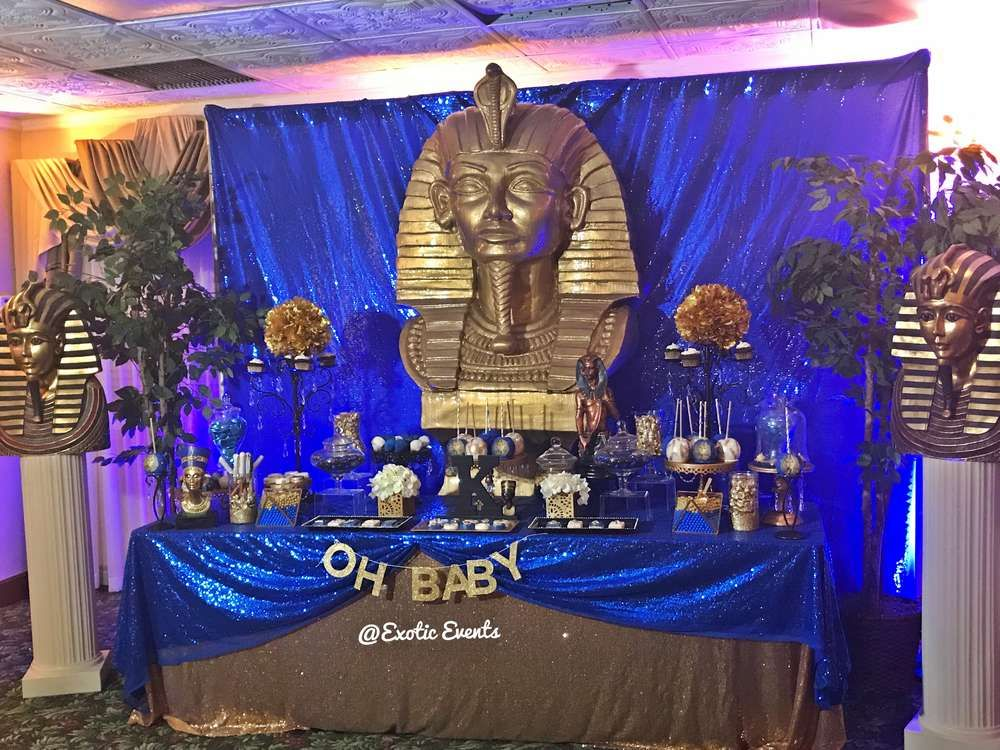 Exceptional Egyptian Theme Baby Shower Party Ideas