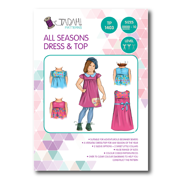 All Tadah PDF and PRINT patterns - a collection of fun and ...