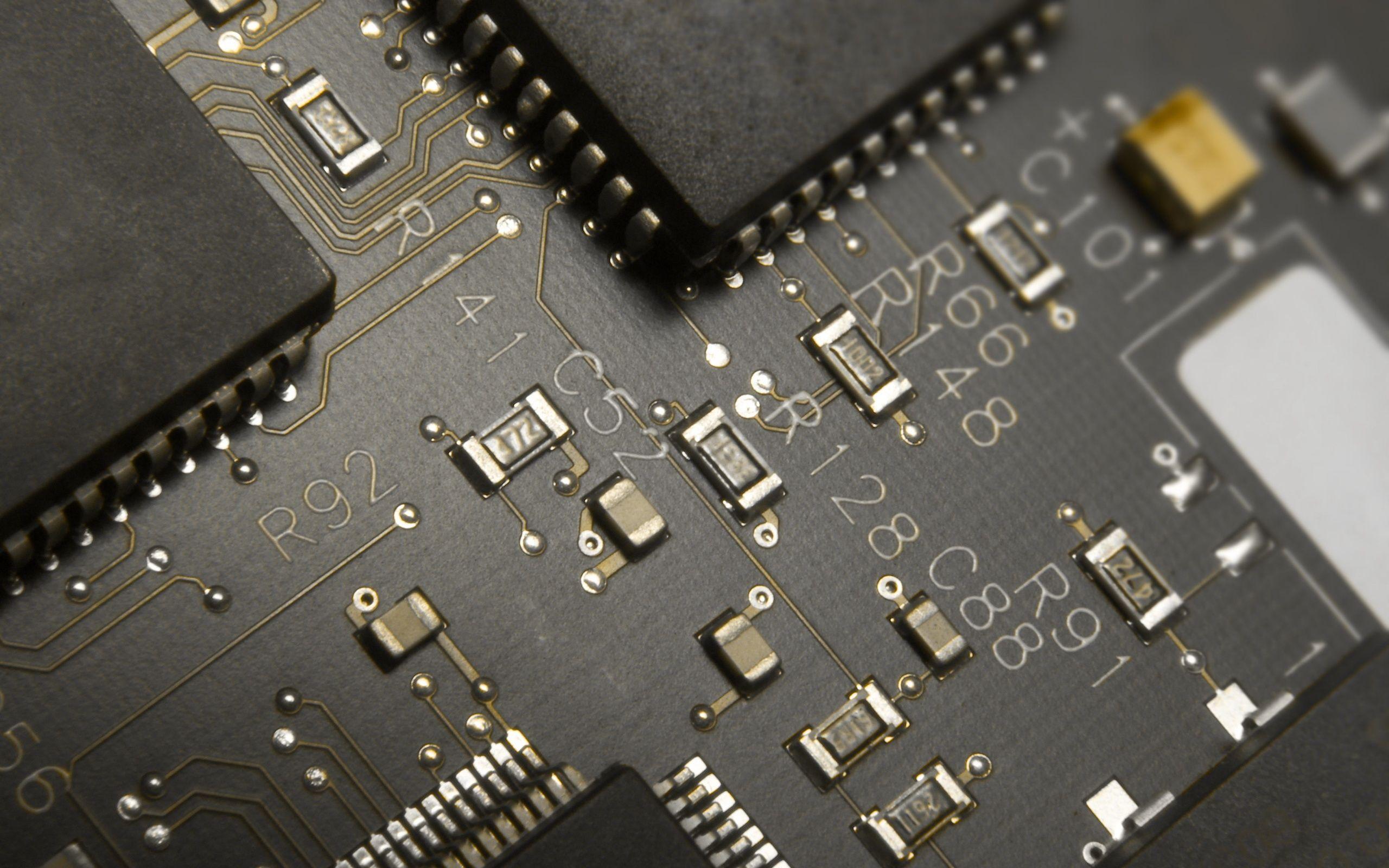 Electronic Circuit Wallpaper Circuito Electrónico