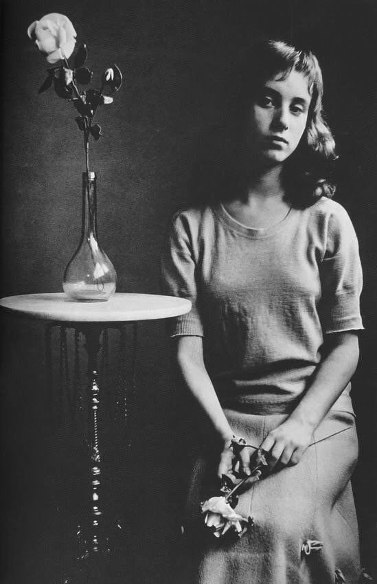 Young girl with roses (1961), Johan van der Keuken