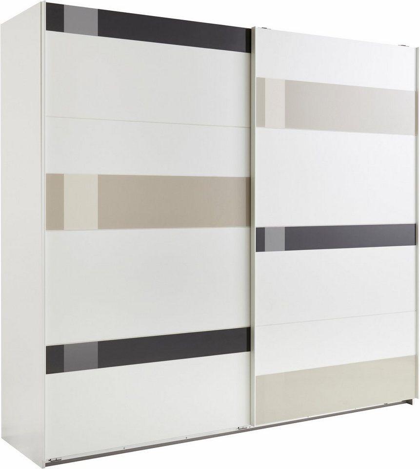 Wimex Schwebeturenschrank Mondrian Front Mit Glaselementen