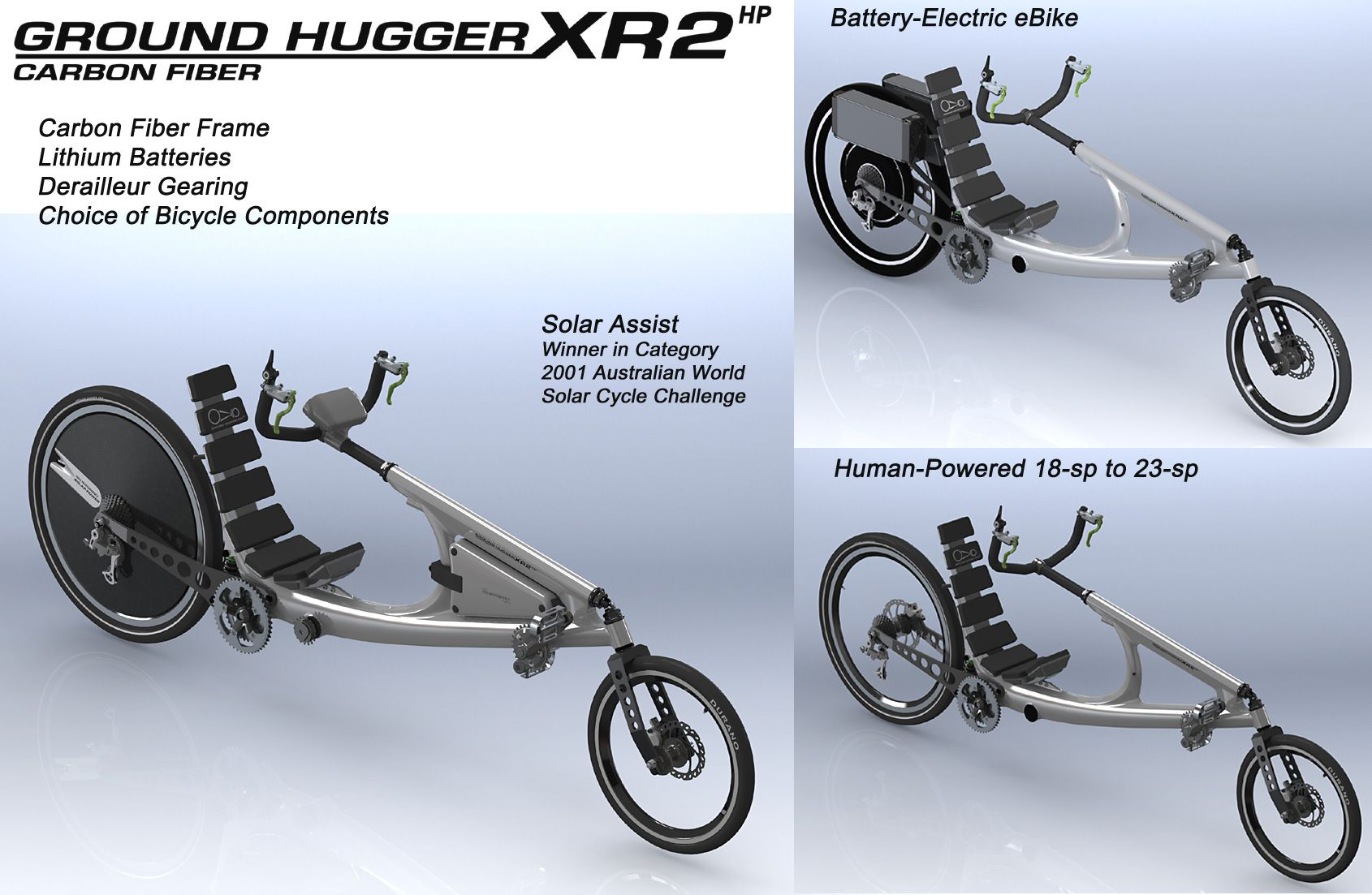 Awardwinning xr2 recumbent bike bike wood bike