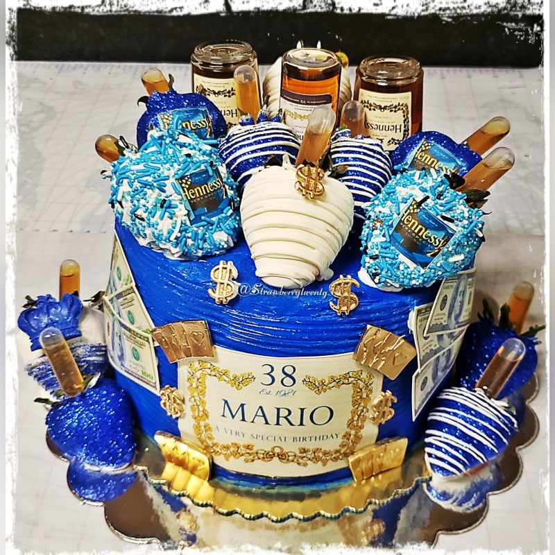 Blue is definitely marios favorite color hennessy