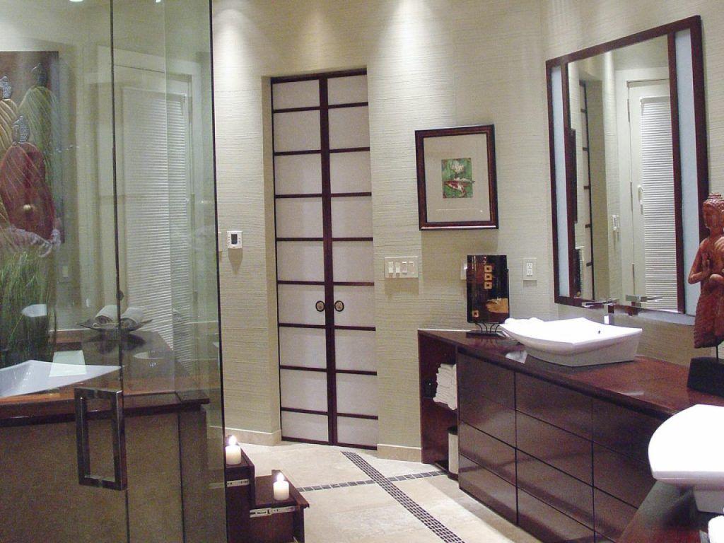 Modern japanese style popular styles of bathroom design
