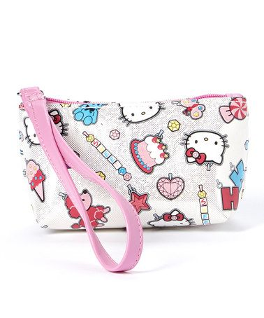 Hello Kitty Charmed I m Sure Wrist Pouch by Hello Kitty  zulily  zulilyfinds 2dd4bd3107