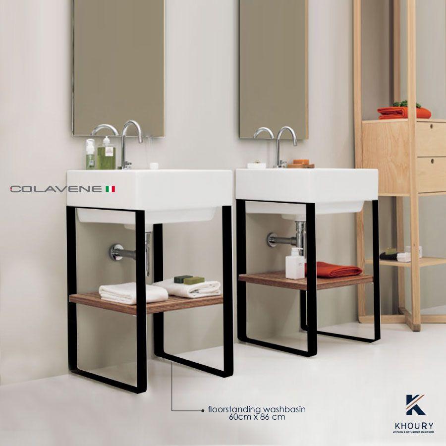 Colavene The New Italian Brand Washbasin Floor Standing