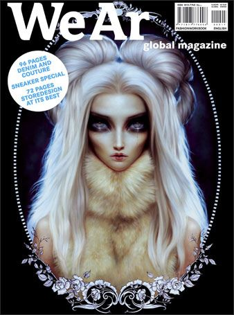 Lori Earley on the Cover of WeAr Magazine. Issue 17