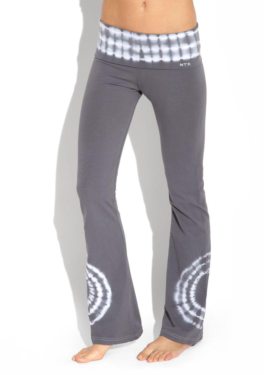 MTX Sport Tie Dye Full Length Pant in Grey. LOVE