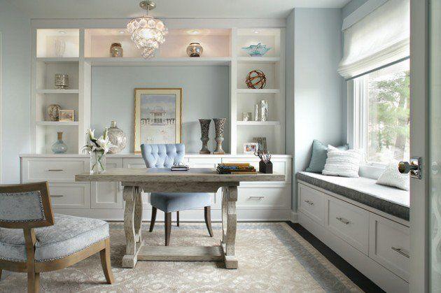 colorful feminine office furniture