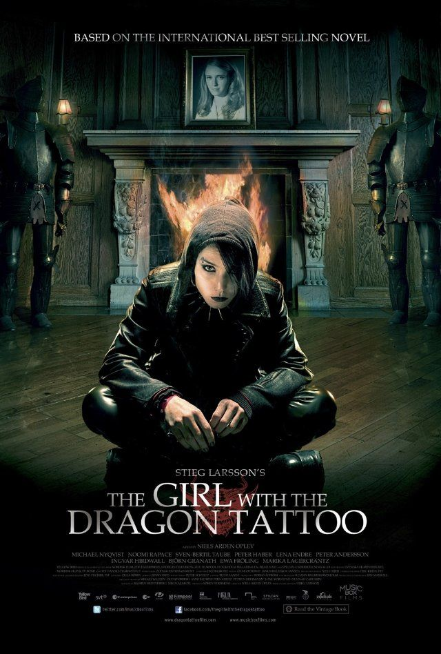 The Girl with the Dragon Tattoo | Difficult to watch, but all around a great movie