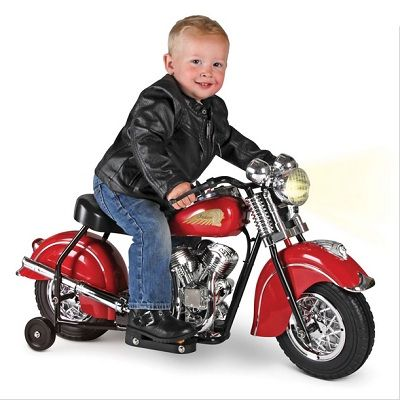The Children S Electric 1948 Indian Motorcycle A Battery Powered Ride On Replica Of The Classic Indian Chief Motorcycle Vintage Indian Motorcycles Custom Motorcycles Bobber Kids Motorcycle