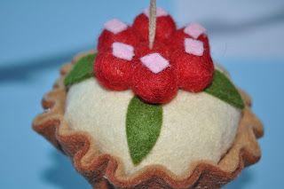 cup cake in feltro Creativando by Luzzy