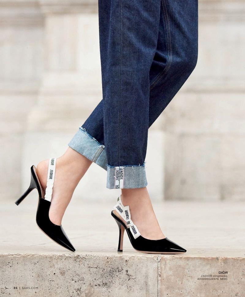 Maartje Verhoef Charms in Dior's Fall