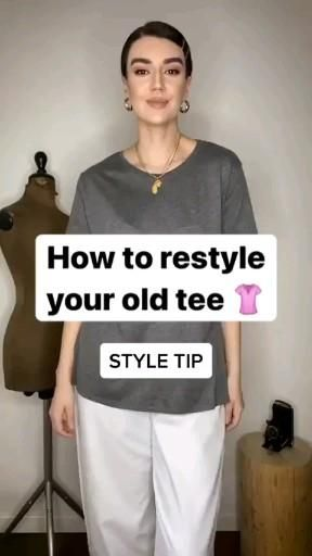 tshirt outfit tips and tricks, ways to style tshir
