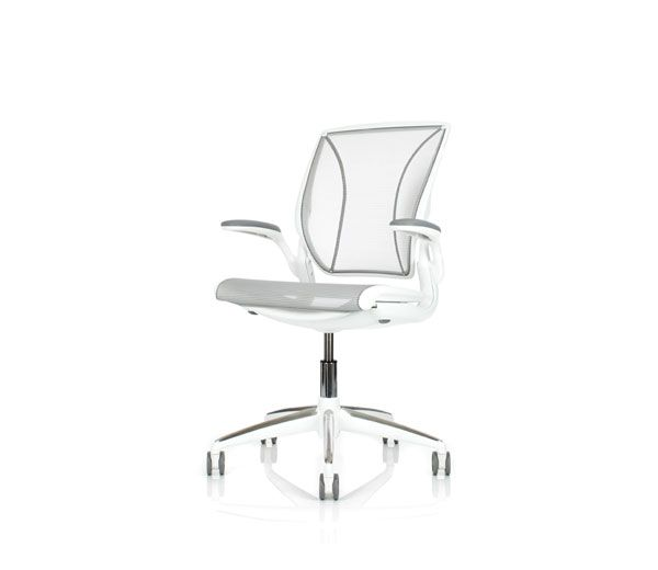Different World Chair Old Blue Bay Hats Humanscale Chaire White A Comfortable Task For Sitting In Front Of Computer