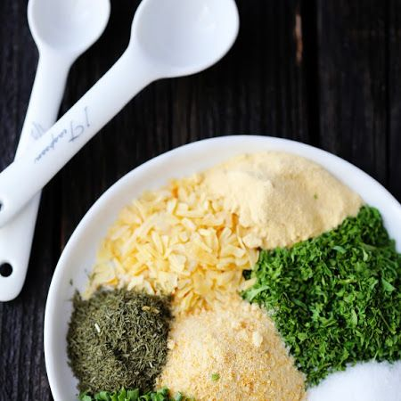 Homemade Ranch Seasoning Mix... Mix with Greek yogurt for a veggie dip