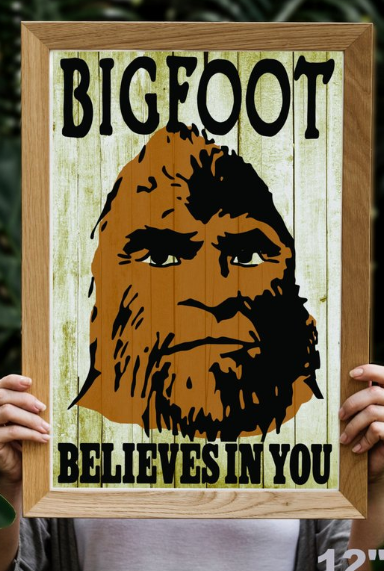 34476e7e bigfoot poster,sasquatch poster,finding bigfoot,theres a squatch,in these  woods,hide seek champion,college dorm poster, poster for dorm room,dorm  room wall ...