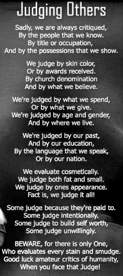 Judging Others Kindness Pass It On Quotes Judging Others